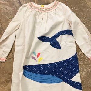 Mini Boden appliqué dress size 6-7